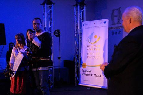 Produkt Warmia Mazury- certyfikat od Marszałka Województwa Warmińsko-Mazurskiego