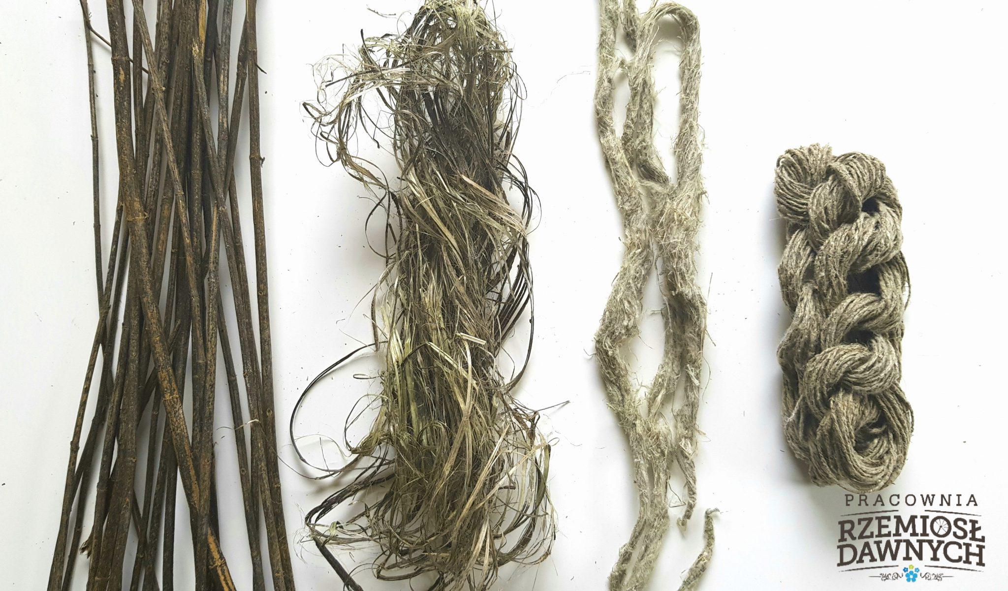 Włókno z pokrzywy- dawne tradycje włókiennicze