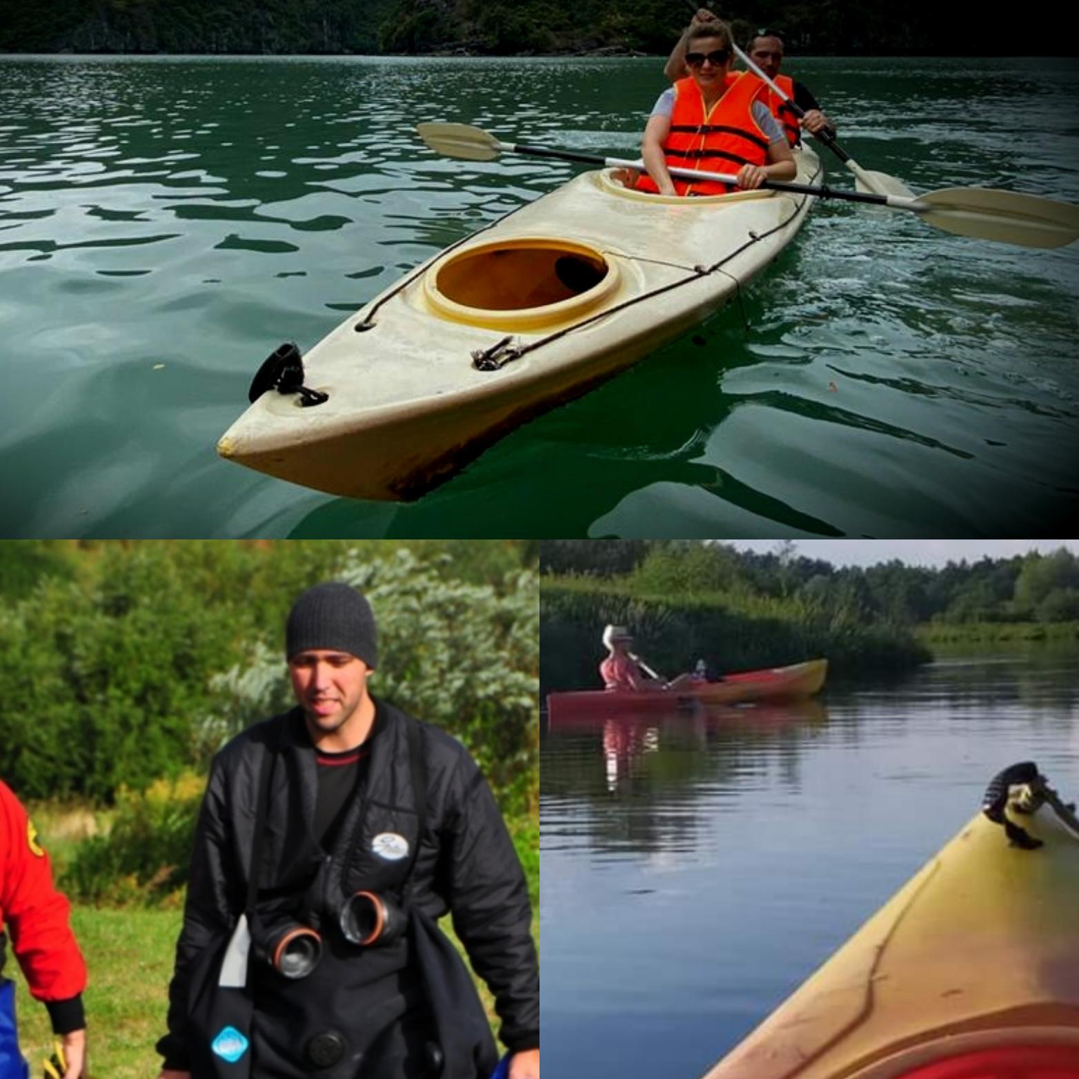 Wstrzymujemy na razie instruktaże z bezpieczeństwa na wodzie i nurkowania.